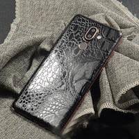 rear stickers wrap skin crocodile snakeskin pattern decorative back for nokia 7 plus mobile phone protector nokia7 back film