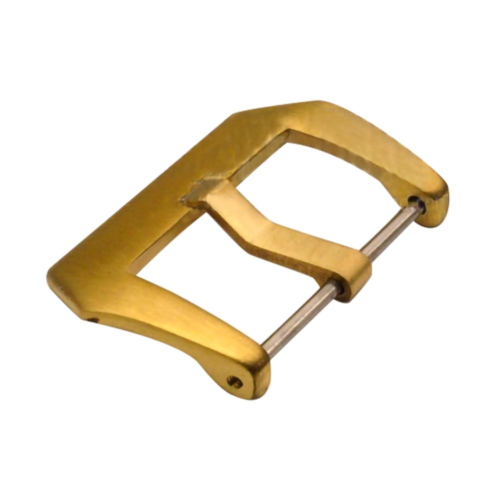 18/20/22/24/26MM hebillas de reloj de bronce puro para PAM382 PAM507 PAM508 PAM000 PAM111 PAM517