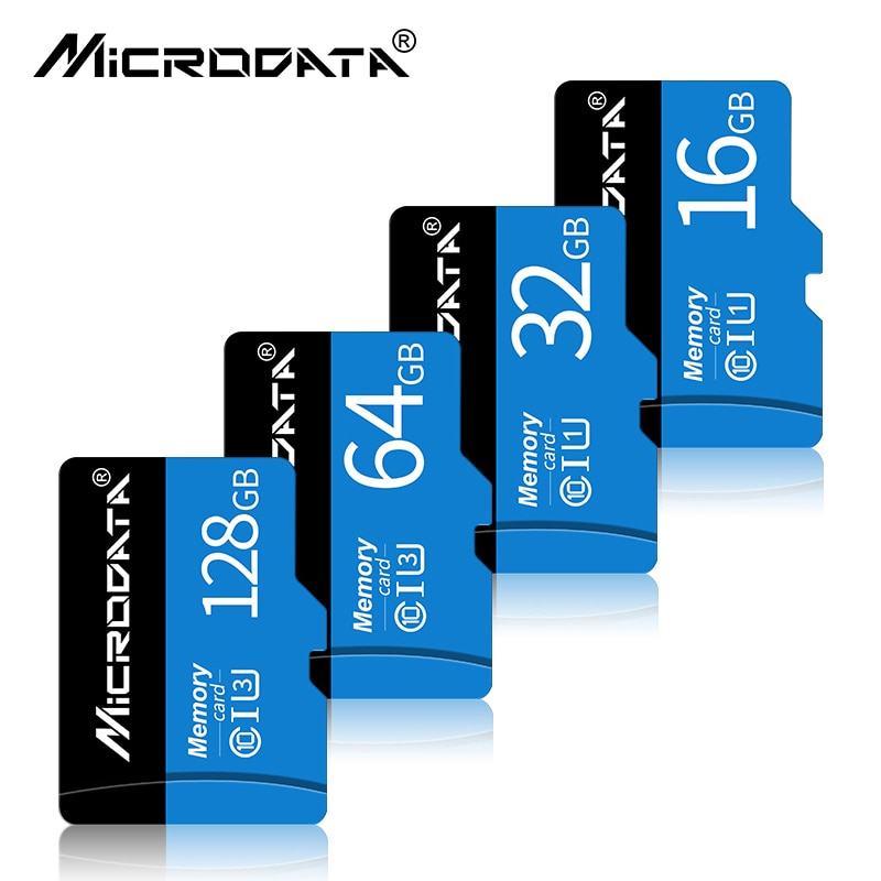 Class 10 Micro SD card 4GB 8GB 16GB 32GB SDHC/SDXC Memory Cards 128GB 256GB TF card for phone tablet with package free SD adapte