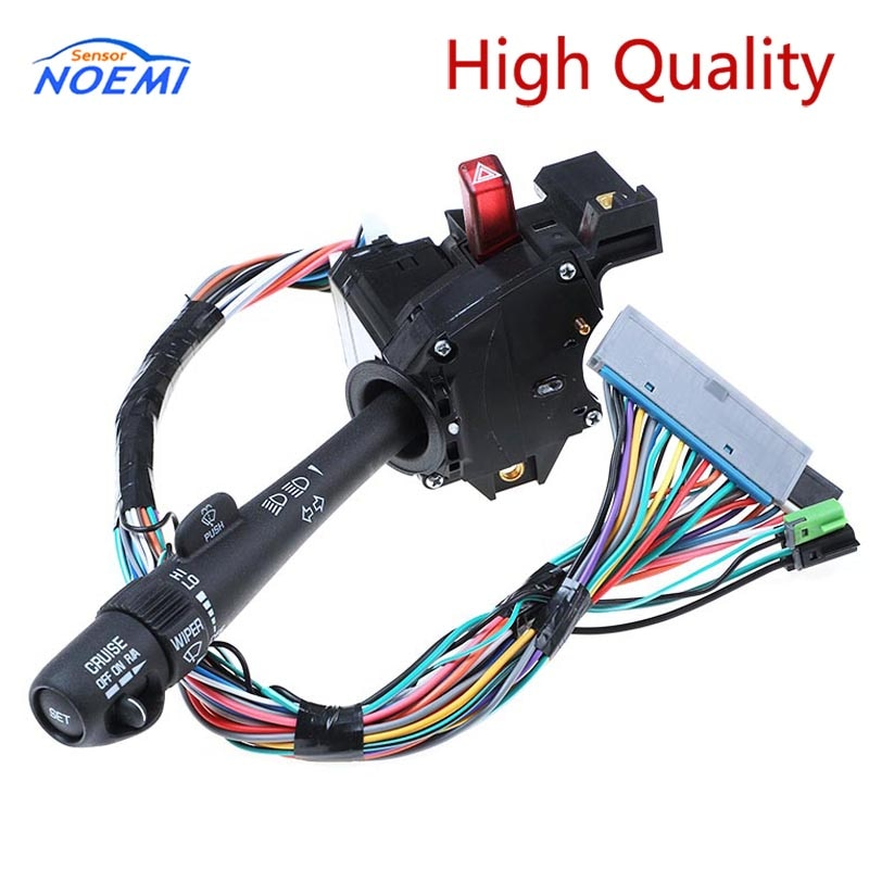 YAOPEI 26100839 22540149 26090412 Cruise Control Windshield Wiper Arm Turn Signal Lever Switch Multifunction For Chevy GMC Truck