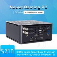 9th Gen Intel Core PC de bureau ordinateur de jeu i9 9880H i9 8950HK Type C DP HD 2 * DDR4 NVME Linux mini pc WiFi + BT Tv box windows10