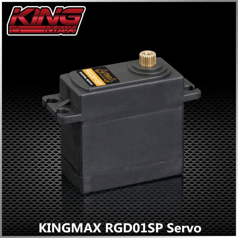 KINGMAX RG SERVOS series 25T RGD01SP--63g 25kg.cm digital metal gears Programmable high performance digital low profile servo