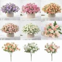 artificial flower silk carnation flowers fakes flowers real wedding flowers wedding banquet bridal bouquet home decoration