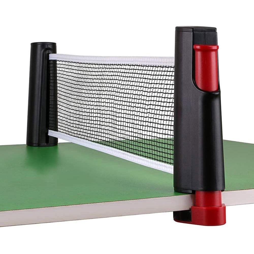 Сетка для настольного тенниса сетка для пинг-понга, портативная Выдвижная сетка для настольного тенниса, стойка для любых домашних тренаже...