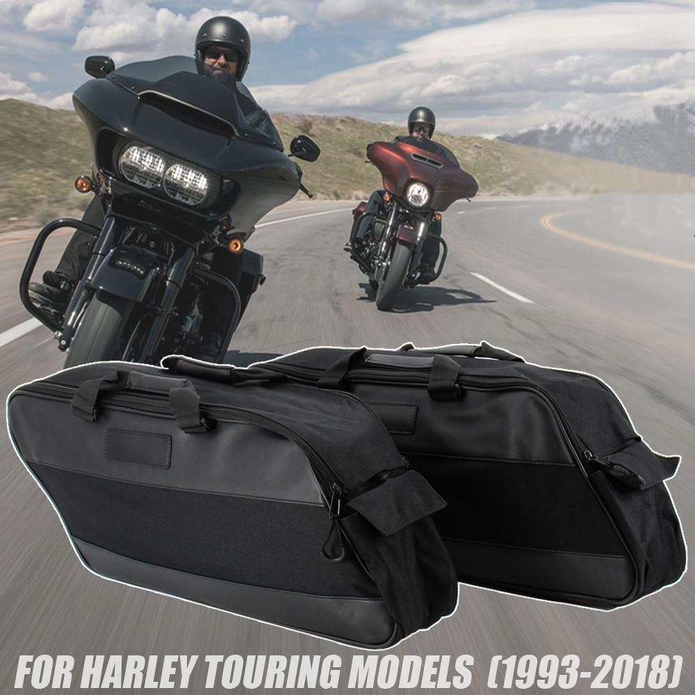 Мотоциклетная седельная сумка, багажная подставка для Harley Touring Road King Electra Street Glide Ultra Tour FLTR FLHX 93-20