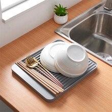 Nouveau bol tasse égouttoir vaisselle évier Drain plastique plateau couverts filtre plaque stockage rayonnage Rack Drain conseil cuisine outils évier