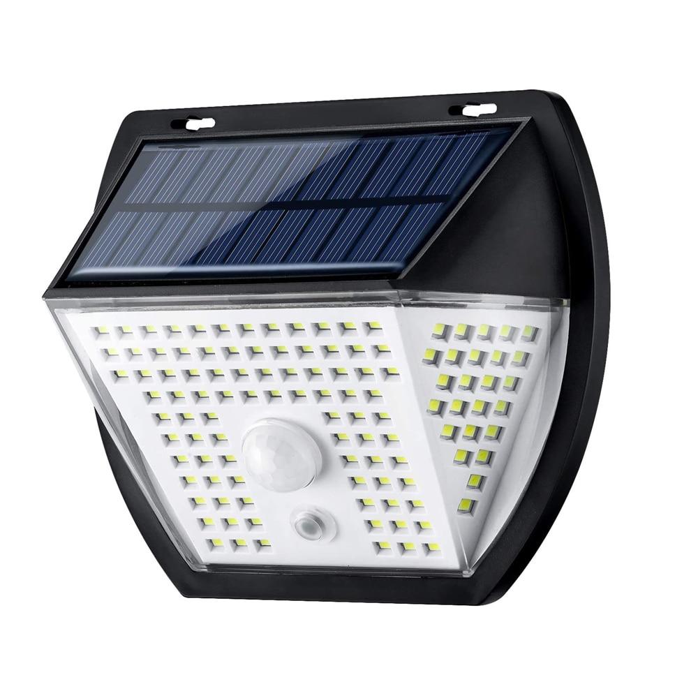 16. Luz Solar Exterior Impermeable con Sensor de Movimiento