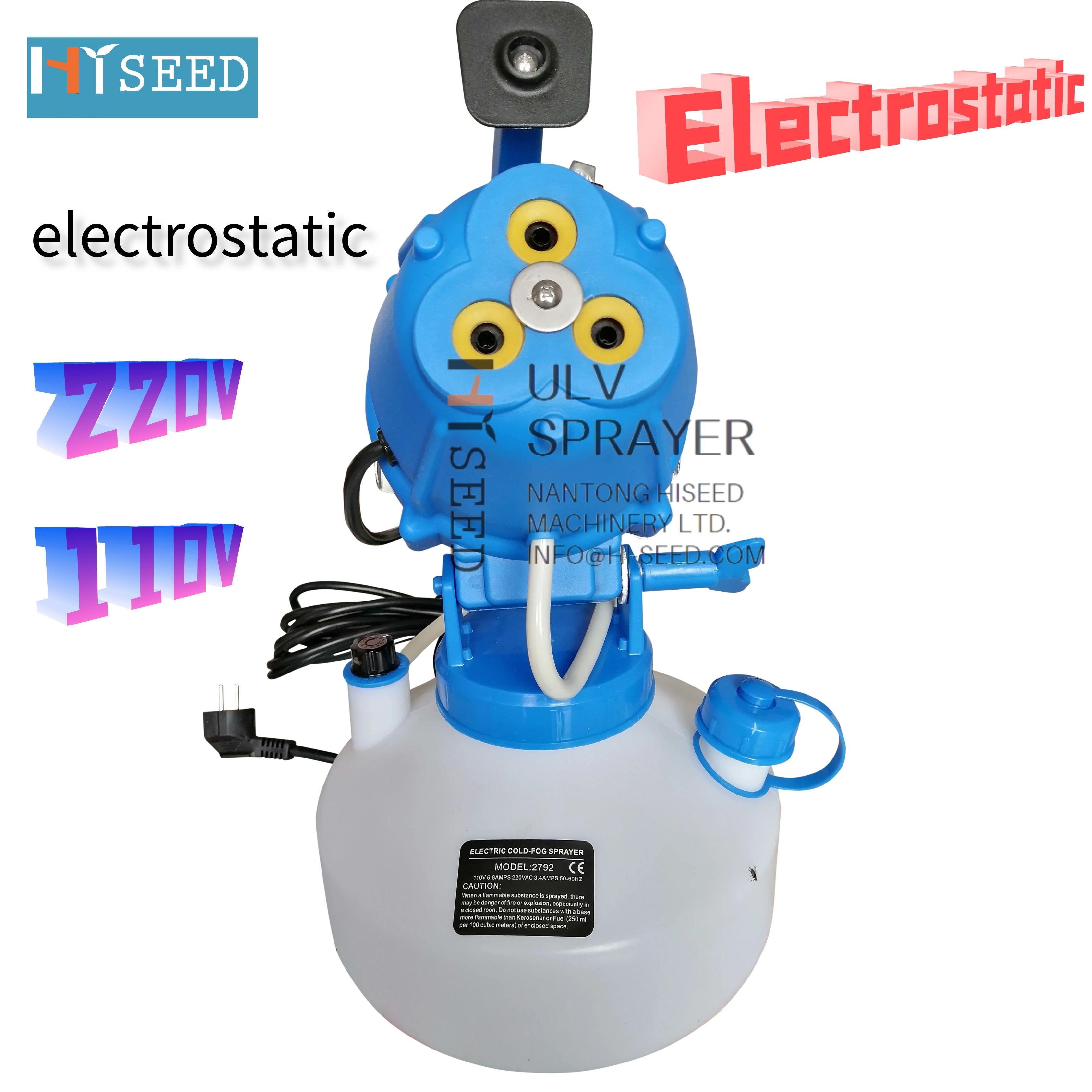 Máquina electrostática para desinfección, nebulizadora eléctrica, desinfectante