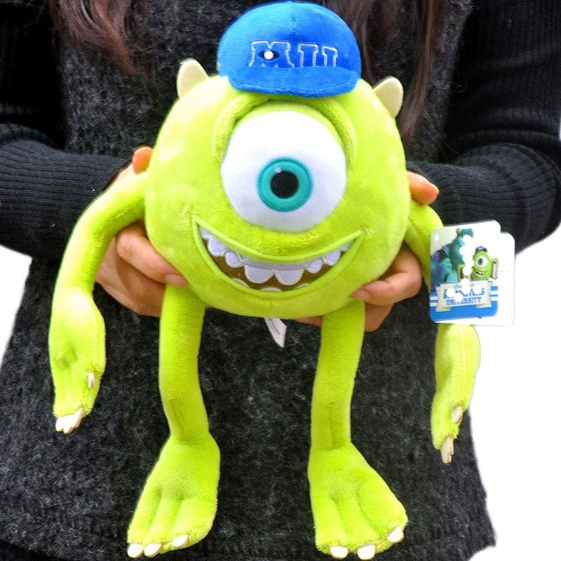 Monstruos Mike Wazowski peluche monstruos muñeco de peluche suave para niños regalo 20cm 30cm 35CM