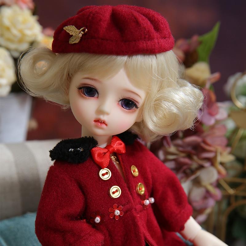 Napi Moti BJD SD Doll  1/6 YOSD Body Model Baby Girls Boys Resin Toy High Quality Fashion Shop Fixed-teeth