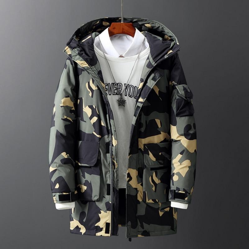 Новинка 2021, мужские комбинезоны, пуховые куртки, мужские зимние пальто, Высококачественная брендовая модная повседневная теплая куртка для...