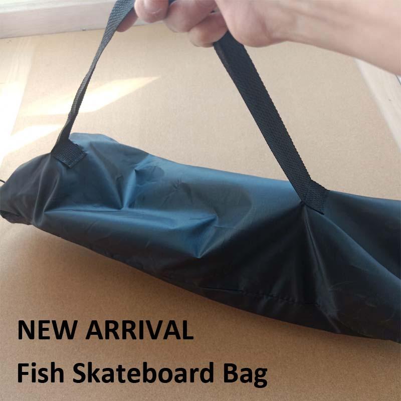 Bolsa de almacenamiento para monopatín de peces de 27X10 pulgadas, Mini Cruiser,...