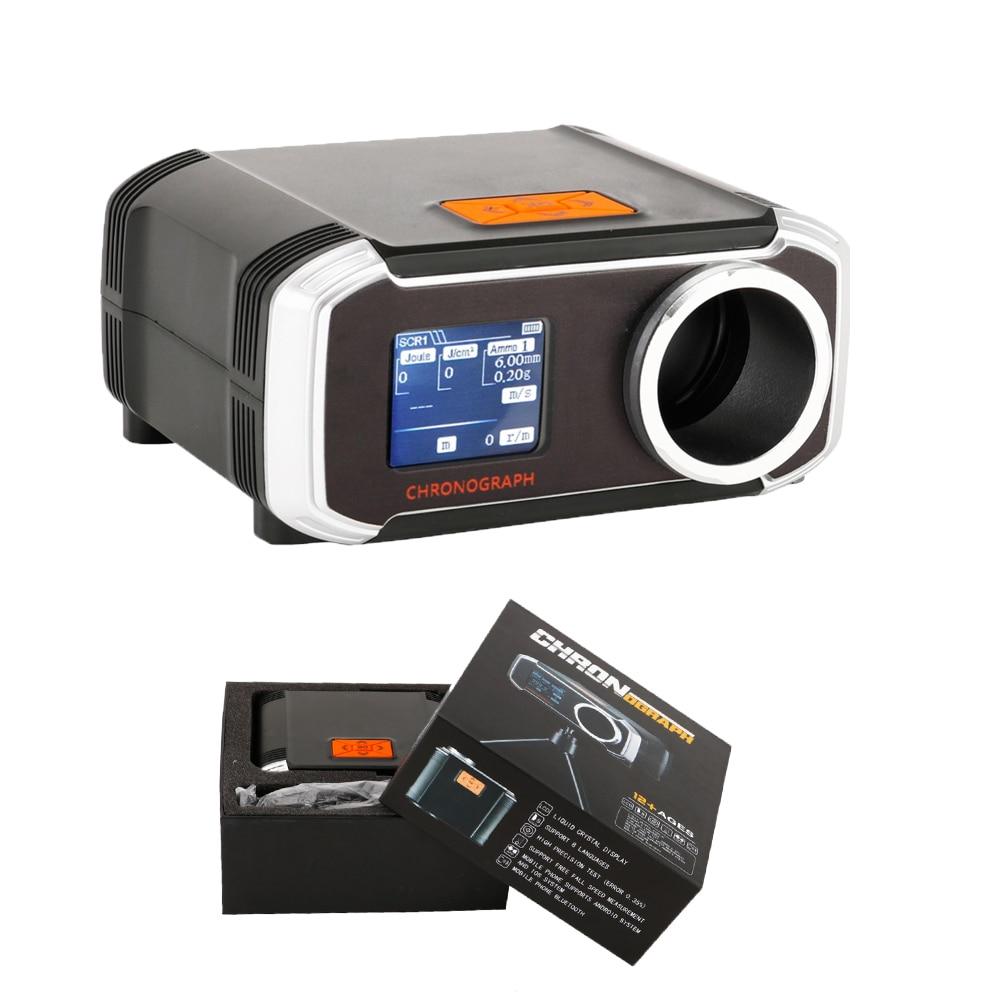 Airsoft Ball Speed Tester Air Gun Shooting Speed Meter  LCD Screen Support Bluetooth APP Gun Speed Tester BBS ABS Shooting