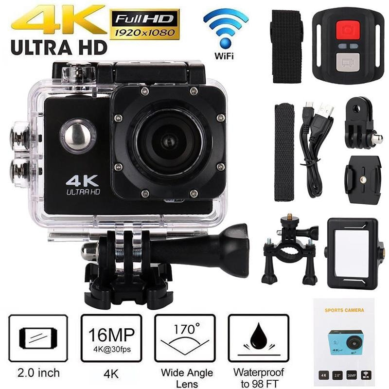 H9 Action Camera Ultra HD 4K / 30fps WiFi 2.0