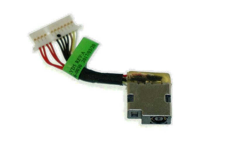original for HP 15-CB076TX 15-CB074TX 15-CB0XX dc jack power cable connector