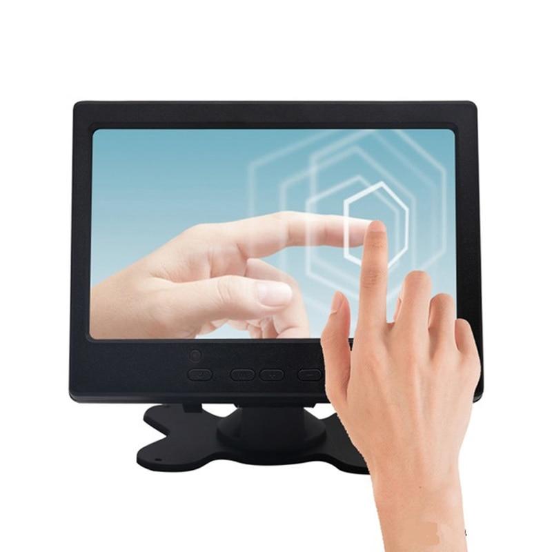 7 inch monitor small mini TFT LCD Touch Screen Monitor 1024*600 for Raspberry Pi CCTV HDMI VGA AV Car Backup Reverse Display