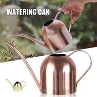 tuin 500ml retro golden stainless steel watering can long mouth flower watering pot garden accessories s%d0%ba%d0%b0%d0%bf%d0%b5%d0%bb%d1%8c%d0%bd%d1%8b%d0%b9 %d0%bf%d0%be%d0%bb%d0%b8%d0%b2 pw