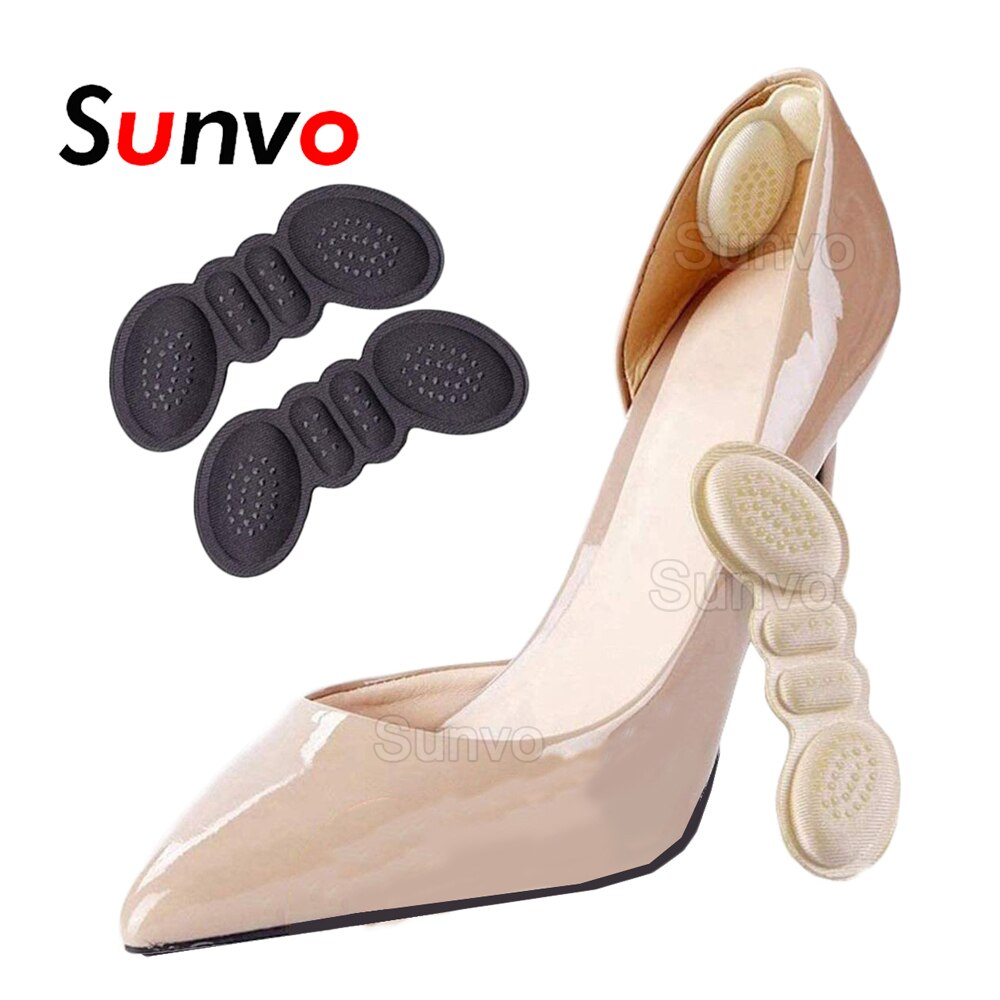 Shoes Heel Protector Pad for Women High Heels Size Reducer Adhesive Heel Liner Grip Pain Relief Foot