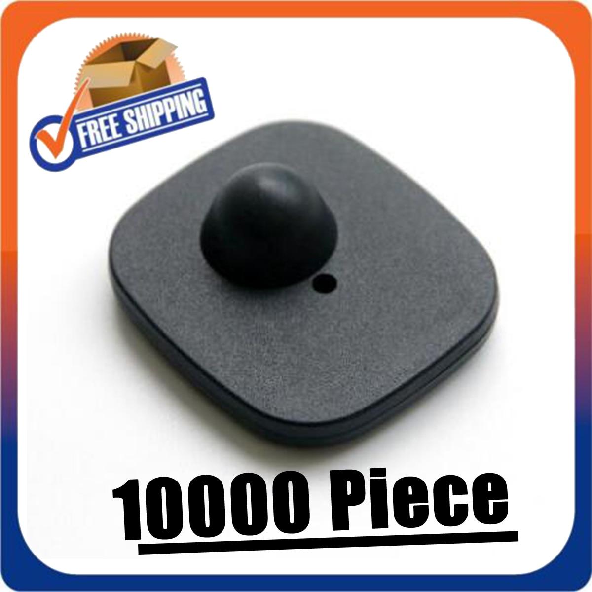 Alarmes de segurança com pinos 10000 peça tag de segurança reusável para rf8.2hz eas sistemas checkpoint sistema compatível
