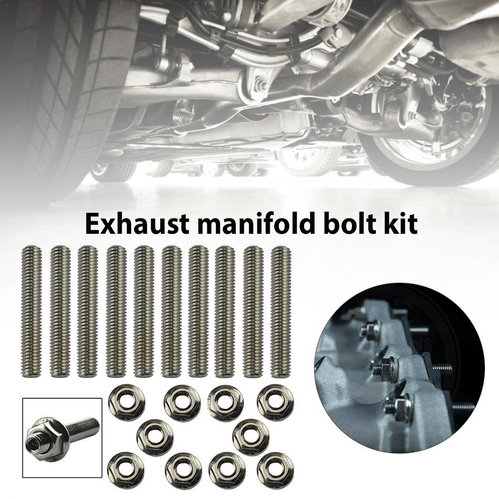 Kit de tornillos de escape profesional LS01 accesorios de coche para Honda B C D F H K Series