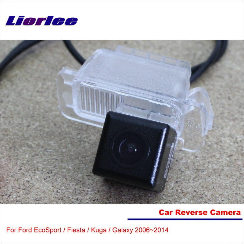 Cámara de marcha atrás de coche para Ford EcoSport / Fiesta / Kuga/Galaxy-vista trasera cámara de marcha atrás de aparcamiento-alta calidad