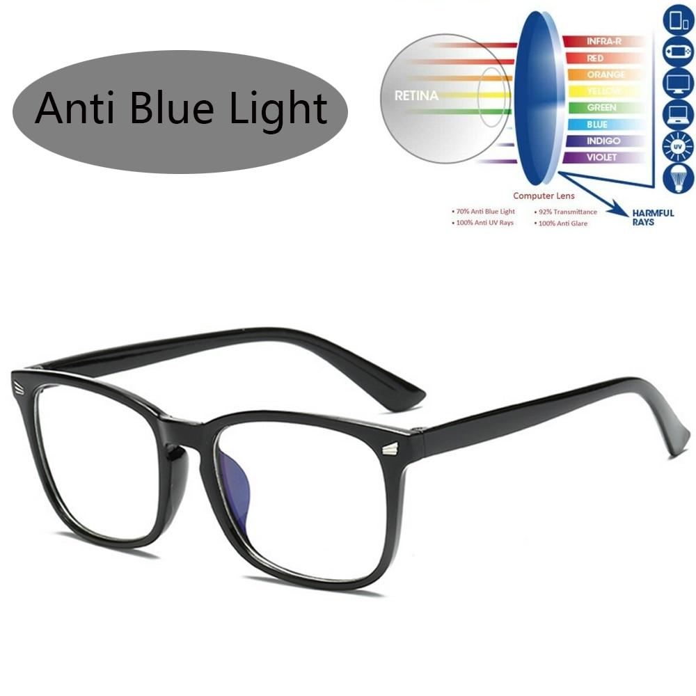 1PC Blue Light Stop Blocking Computer Gaming Glasses Anti UV Anti Blue Ray Transparent Smart Phone Len Eyewears Accessories