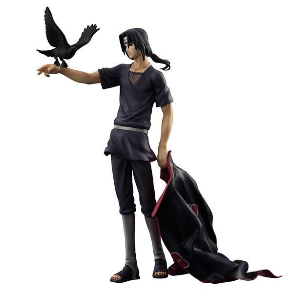 Figura de acción de Naruto Shippuden Uchiha Itachi de PVC, juguete de modelos coleccionables, muñeca T30