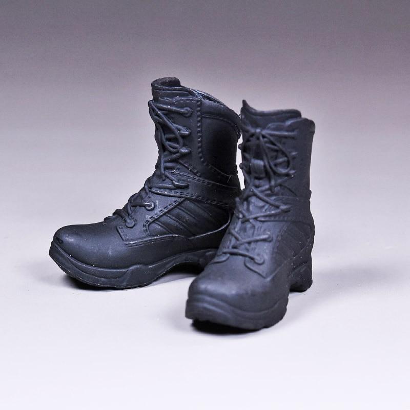 1/6 échelle Vstoys policière bottes de combat chaussures femmes soldats enlèvement approprié phicen gélatine corps 12