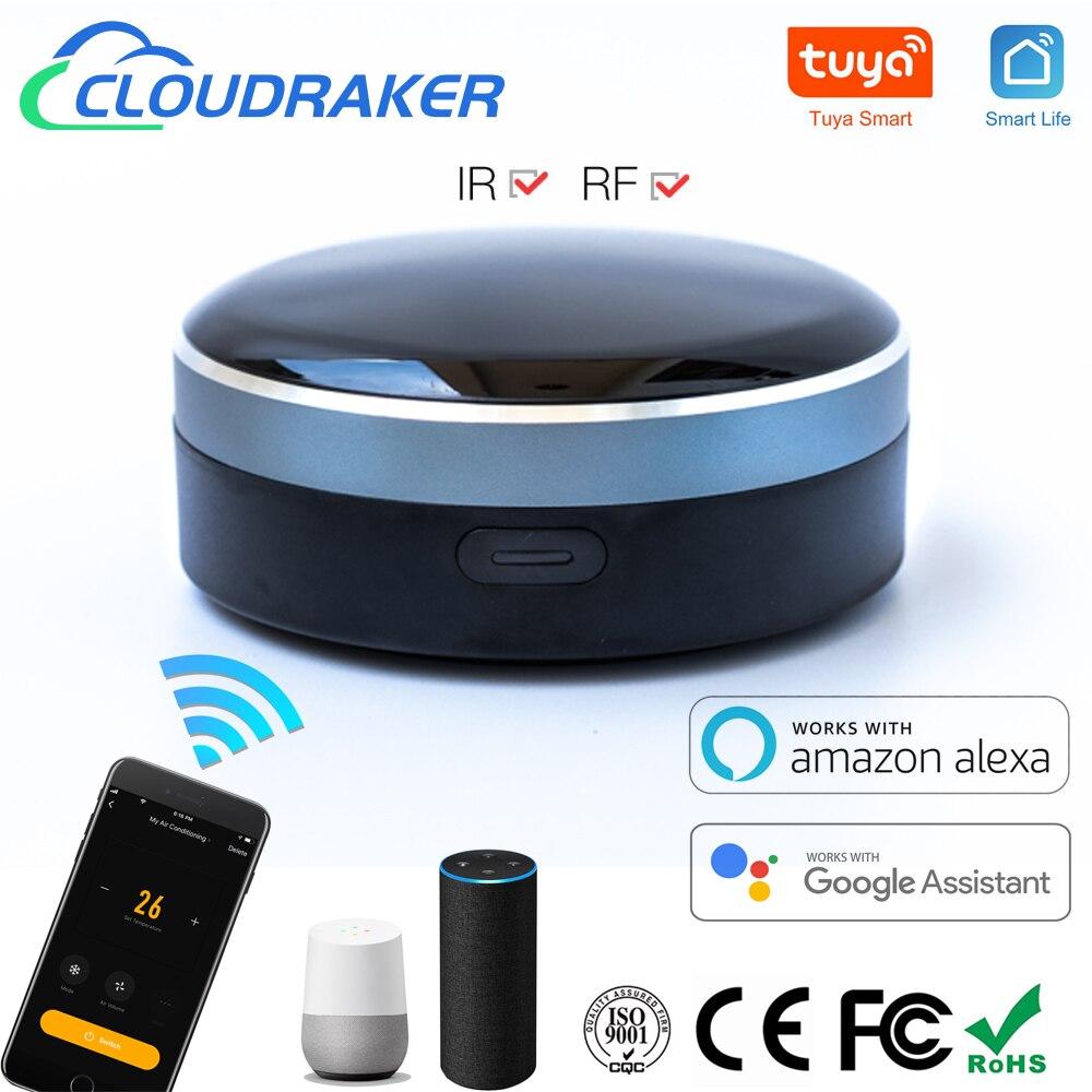 Универсальный пульт дистанционного управления, радиочастотный ИК-пульт дистанционного управления, Wi-Fi, для умного дома, для ТВ, занавесок п...