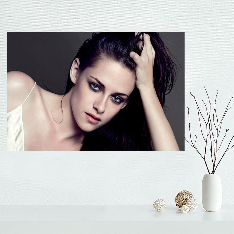 Kristen Stewart Style Posters Wall Art Decor Picture Modern Home Room Decoration High Quality Canvas Painting 40x60cm,50x75cm