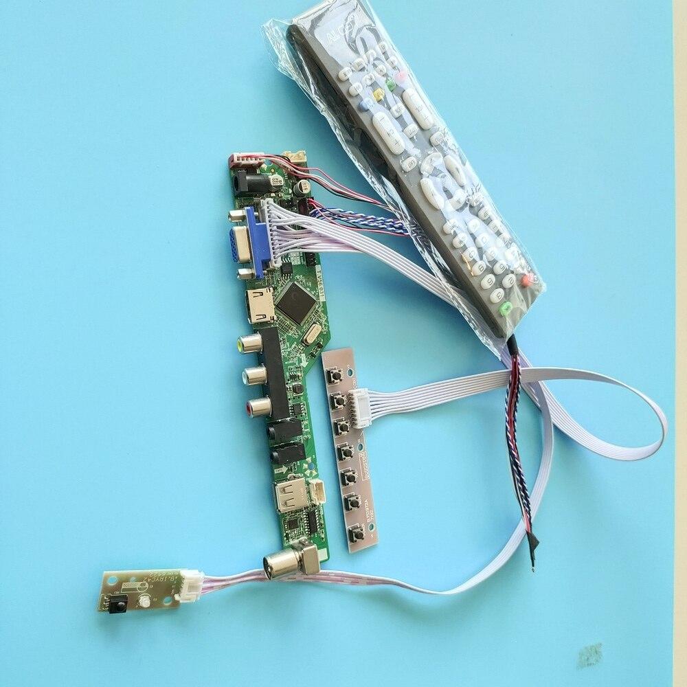 عدة ل N101L6 1024x600 شاشة الصوت تحكم دوارد LVDS عرض LED LCD البعيد USB شاشة تلفزيون مسطحة AV HDMI 40pin VGA مراقب 10.1
