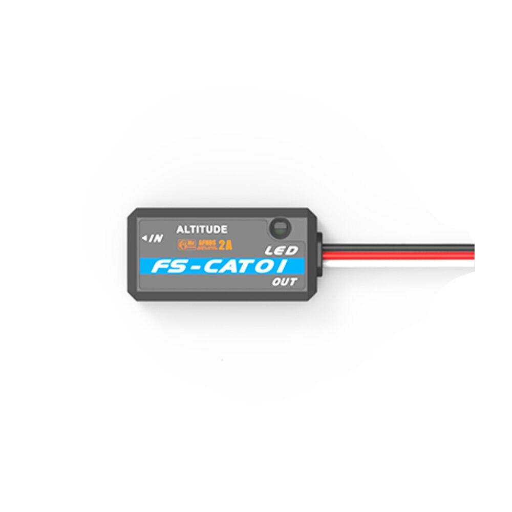 FlySky FS-CAT01 CAT01-Sensor de altitud, puerto de datos de bus Compatible con i6 i6x FS-i8 transmisor iA6B, receptor Dron de carreras con visión en primera persona