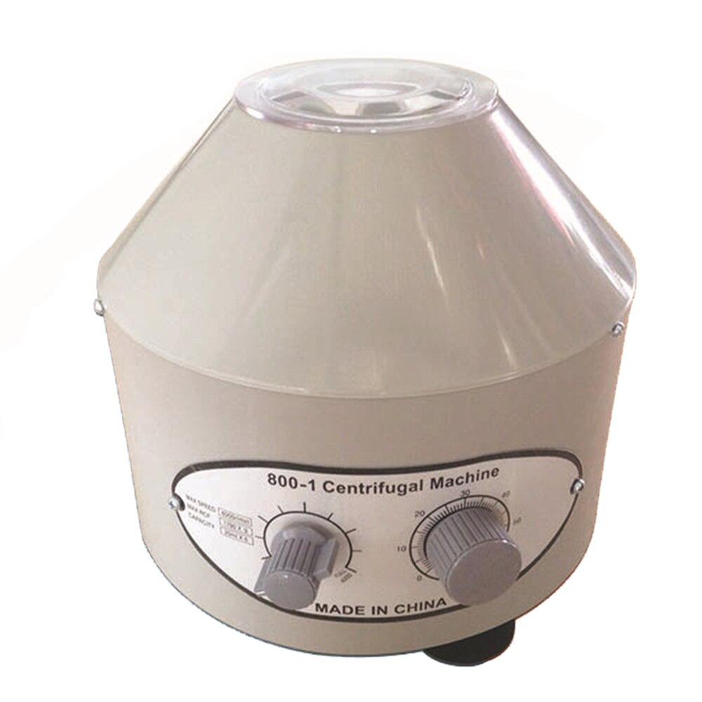 YUEWO Electric Laboratory Centrifuge Medical Practice machine Supplies prp Isolate serum 4000rpm 1760g 6pcs 20ml centrifuge tube