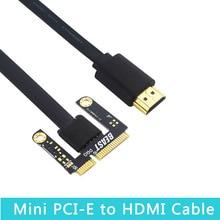 Mini PCI-E zu HDMI Kabel Adapter für Mini Pci-e Version EXP GDC Grafikkarte Adapter für Laptop