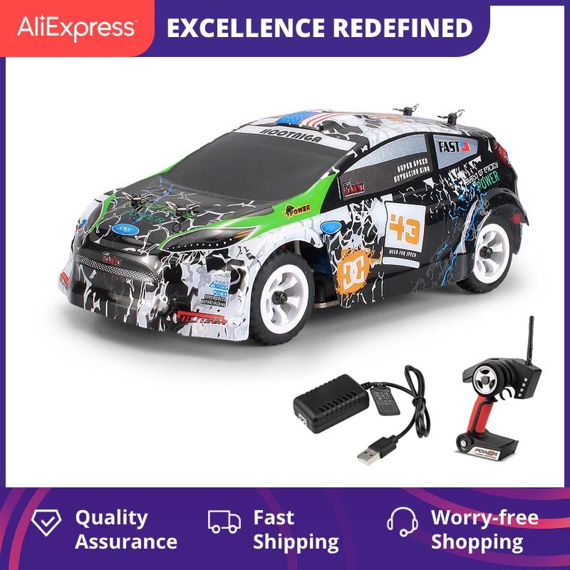 WLtoys K989 Remote Control Four-Wheel Drive Car Charger Electric Toys Mini Race Car 1:28-Ratio High-