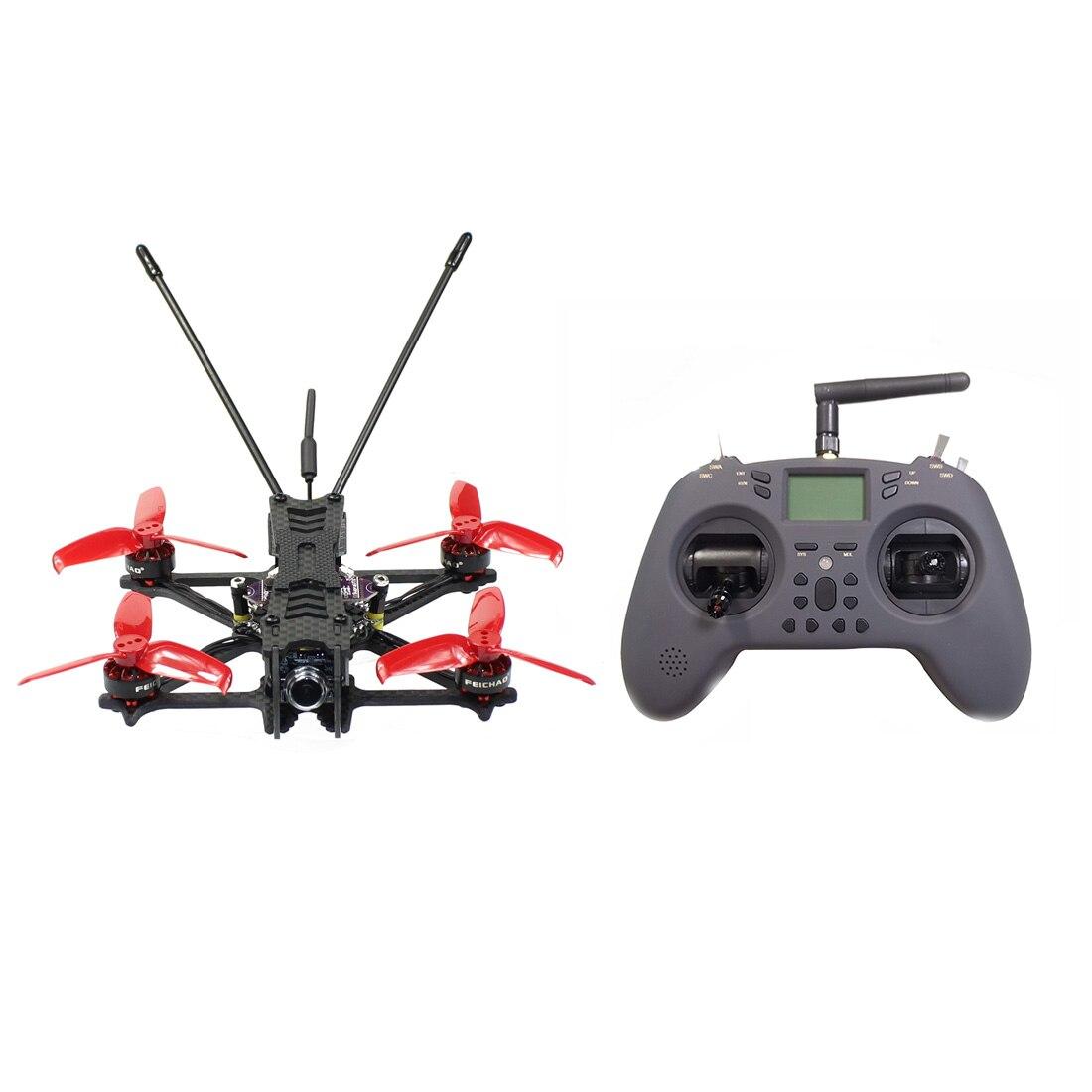 F115 FPV سباق داخلي DIY Drone كيت F411 20A AIO 2S-5S BLHELI _ S الطيران المراقب 1204 5000kv المحرك T-LITE عن تحكم