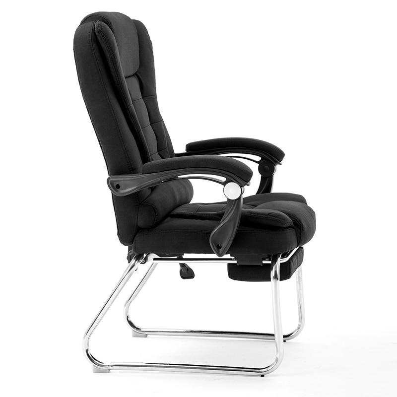 Sillas de ordenador, uso moderno, sencillo, para descanso, descanso, ocio, sillas de estudio, reuniones de oficina, asientos de tela con lazo