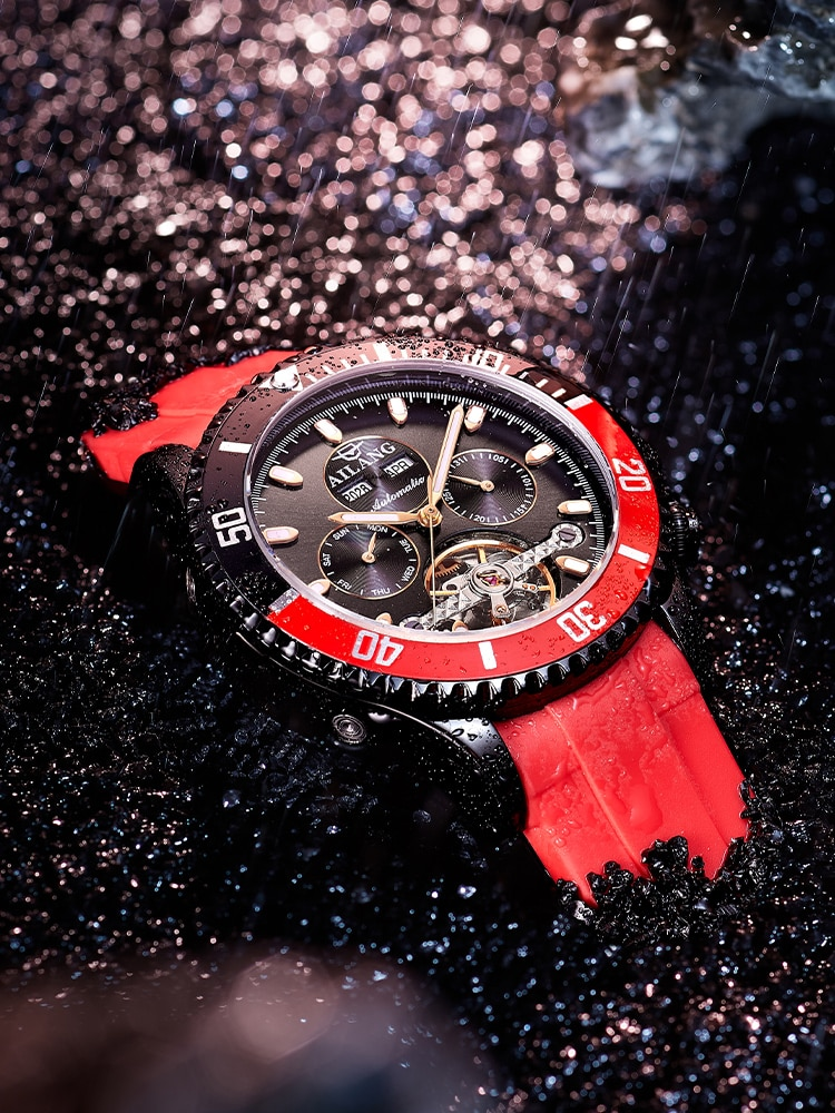 AILANG DESIGN Watch Mineral Glass Men's Automatic Mechanical Watch 3ATM Waterproof Classic Fashion Luxury Automatic Watch Men enlarge