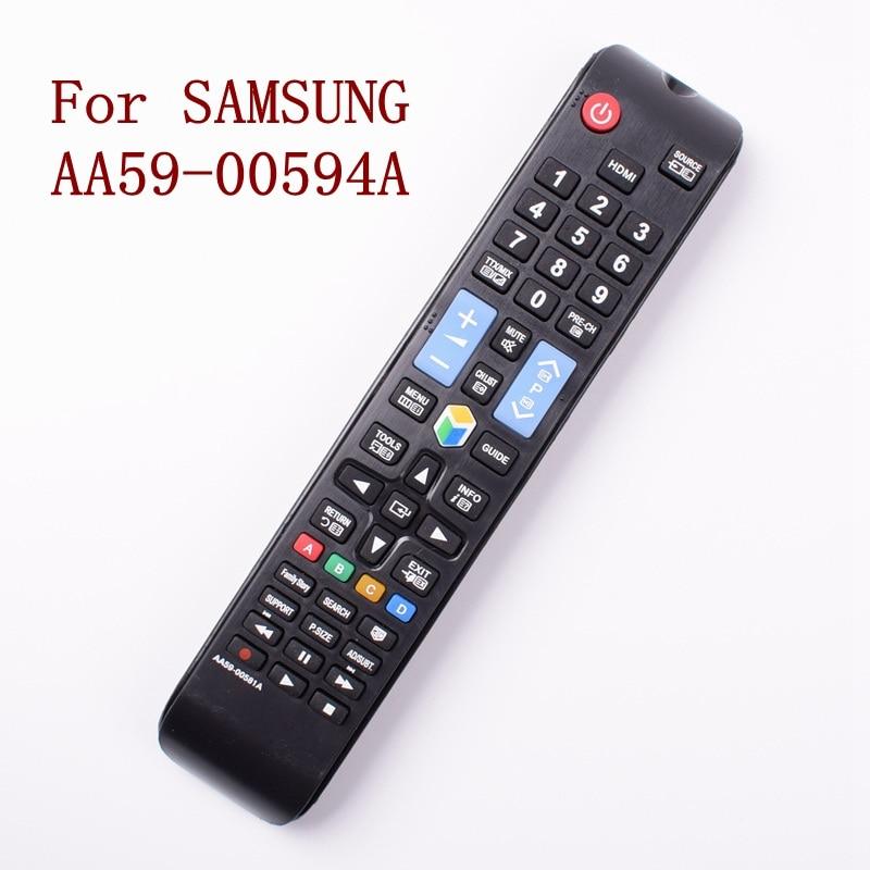 Reemplazo de Control remoto para SAMSUNG AA59-00594A 3D TV reproductor inteligente HDTV
