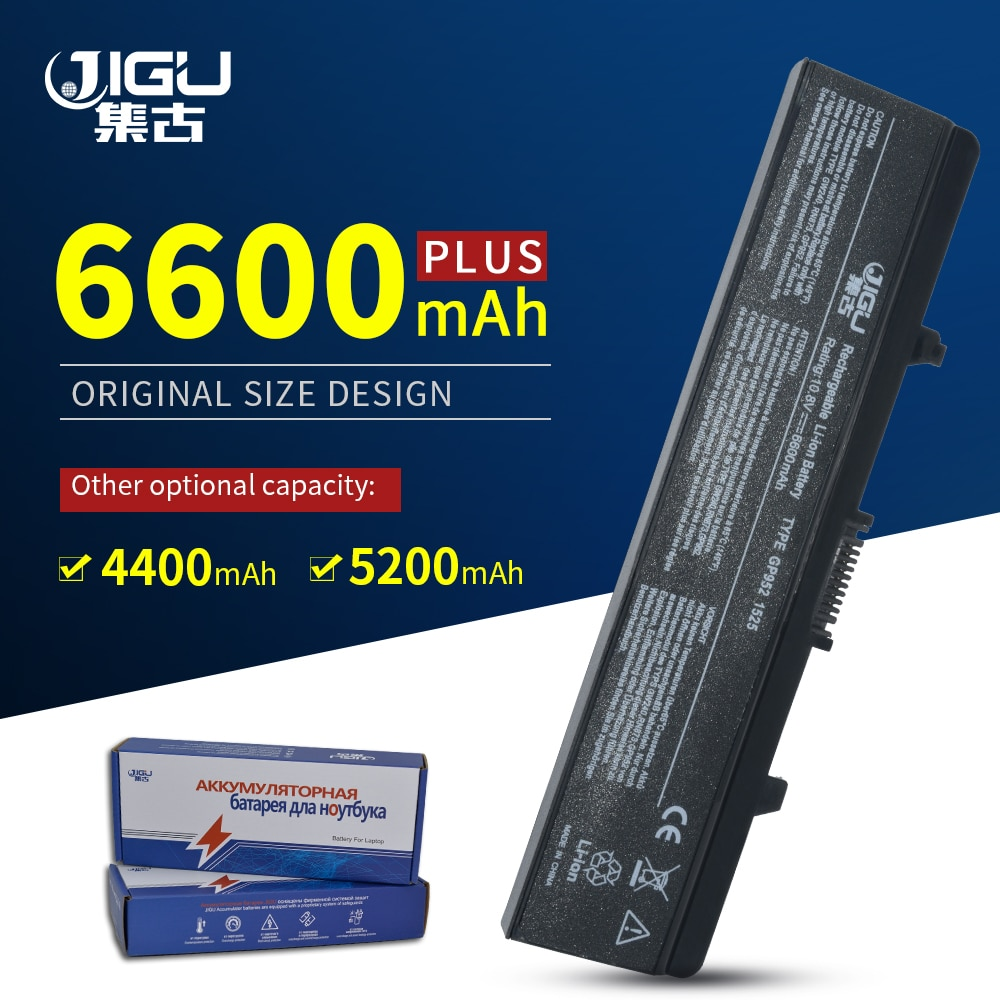 JIGU Laptop battery For DELL Inspiron 1525 1526 1545 1546 Vostro 500 CR693 GW240 PP29L M873 M911G RN873 GW241 GW252 HP277 HP297