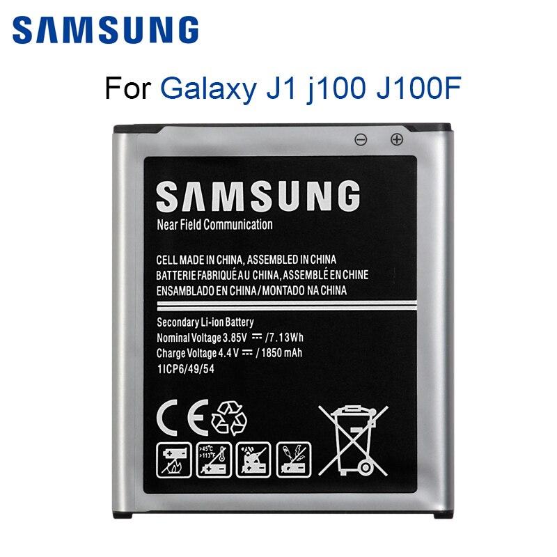 SAMSUNG Original Telefon Batterie EB-BJ100CBE EB-BJ100BBE 1850mAh Für Samsung Galaxy J1 j100 J100F/D J100FN J100H J100M Batterien