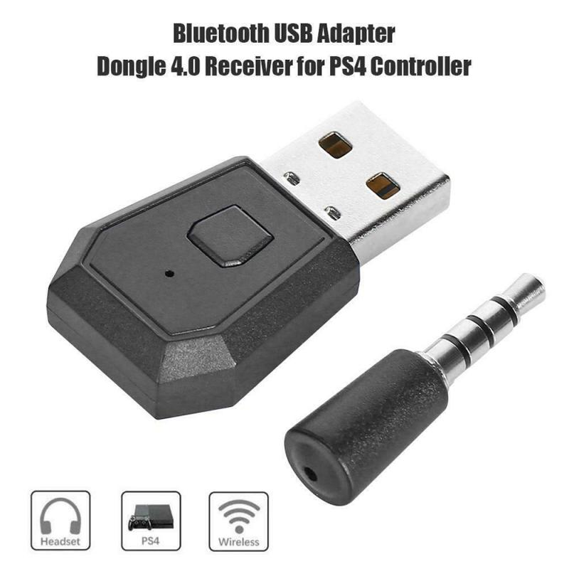 Bluetooth Dongle PS4 Latest Version Bluetooth Dongle 4.0 USB Adapter For PS4 Any Bluetooth Headsets