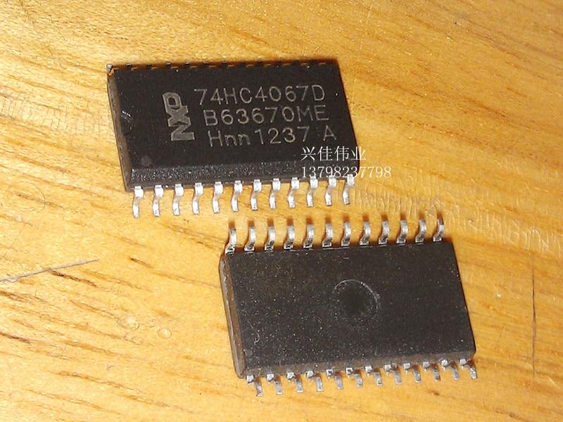 10 Uds nuevo 74HC4067D multiplexor analógico SOP-24