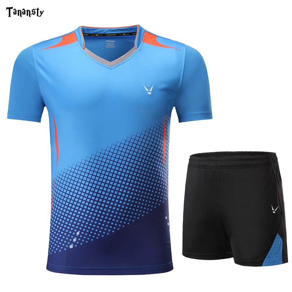 High quality shirt tennis jerseys table tennis sets Men Women ping pong clothes Badminton sports team jogging exercise suit