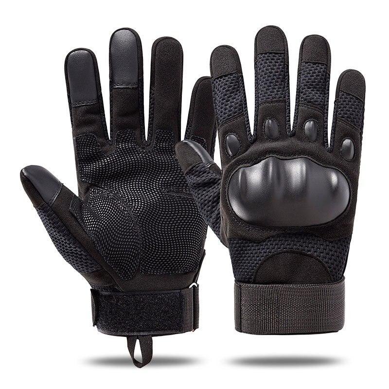 Тактические перчатки Для мужчин армии защиты оболочки кожаные велосипедные перчатки с длинными пальцами в стиле милитари одежда сенсорный...