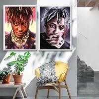 Poster avec jus de fruit pour decoration murale  toile dart  Hip Hop  musique  etoile  peinture