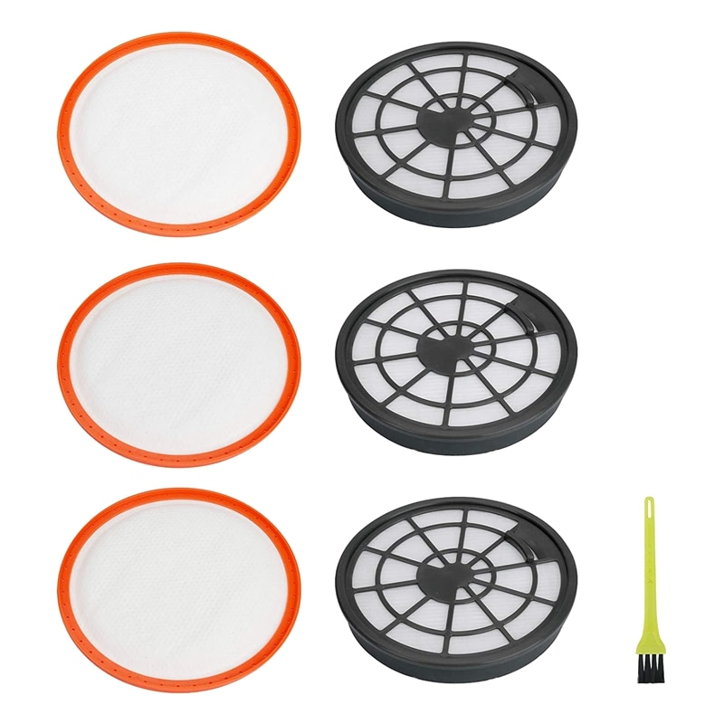 Replacement Filter Kit,for Vax Type 95 Filters Pre & Post Filter Set for Vax Air Compact Series Upright Vacuum Cleaners