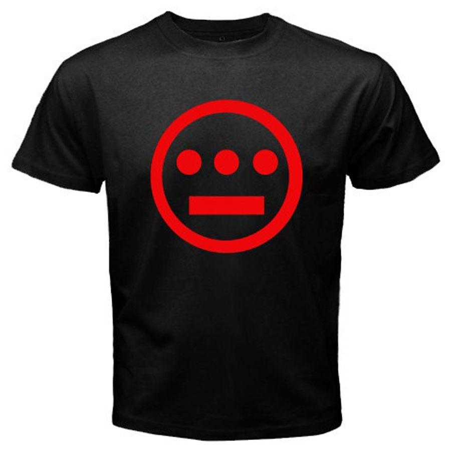 Nuevo jeroglíficos Hip Hop Music Group camiseta negra para hombre tamaño S-3XL 100% algodón