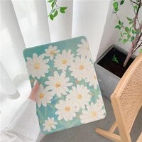 cute daisy for ipad pro 2019 2020 10 5 10 2 11 case for ipad air 2 3 2017 2018 9 7 mini 5 cover capa with pencil holder cases