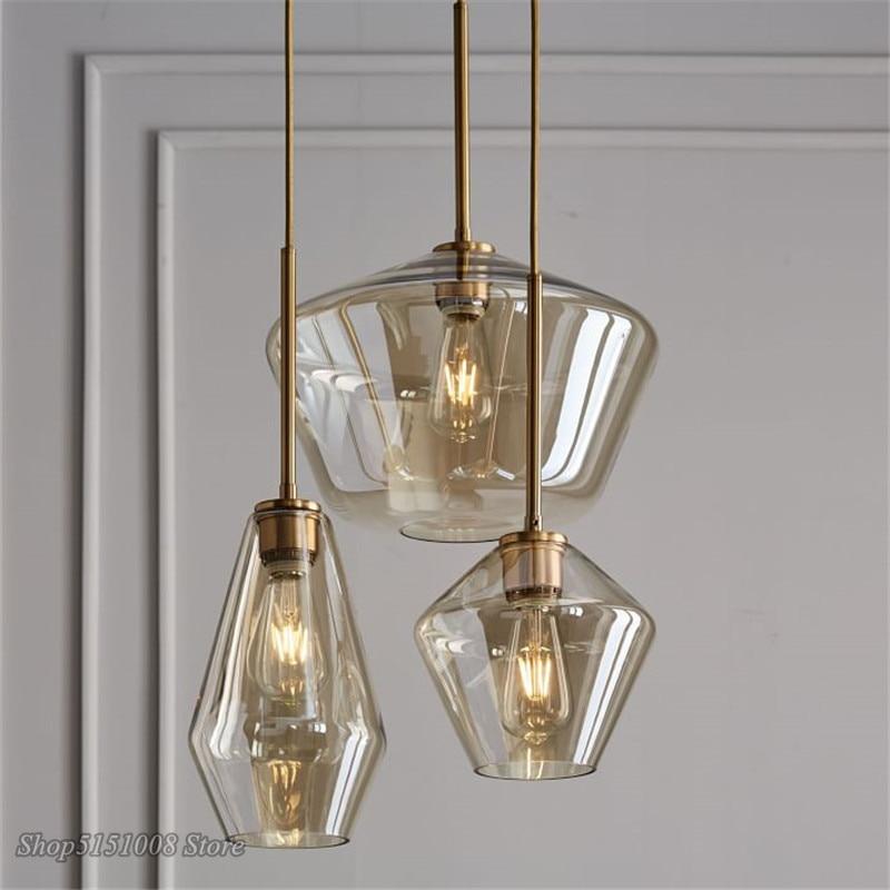 luminaria pendente estilo nordico candelabro moderno com lampada led estilo loft